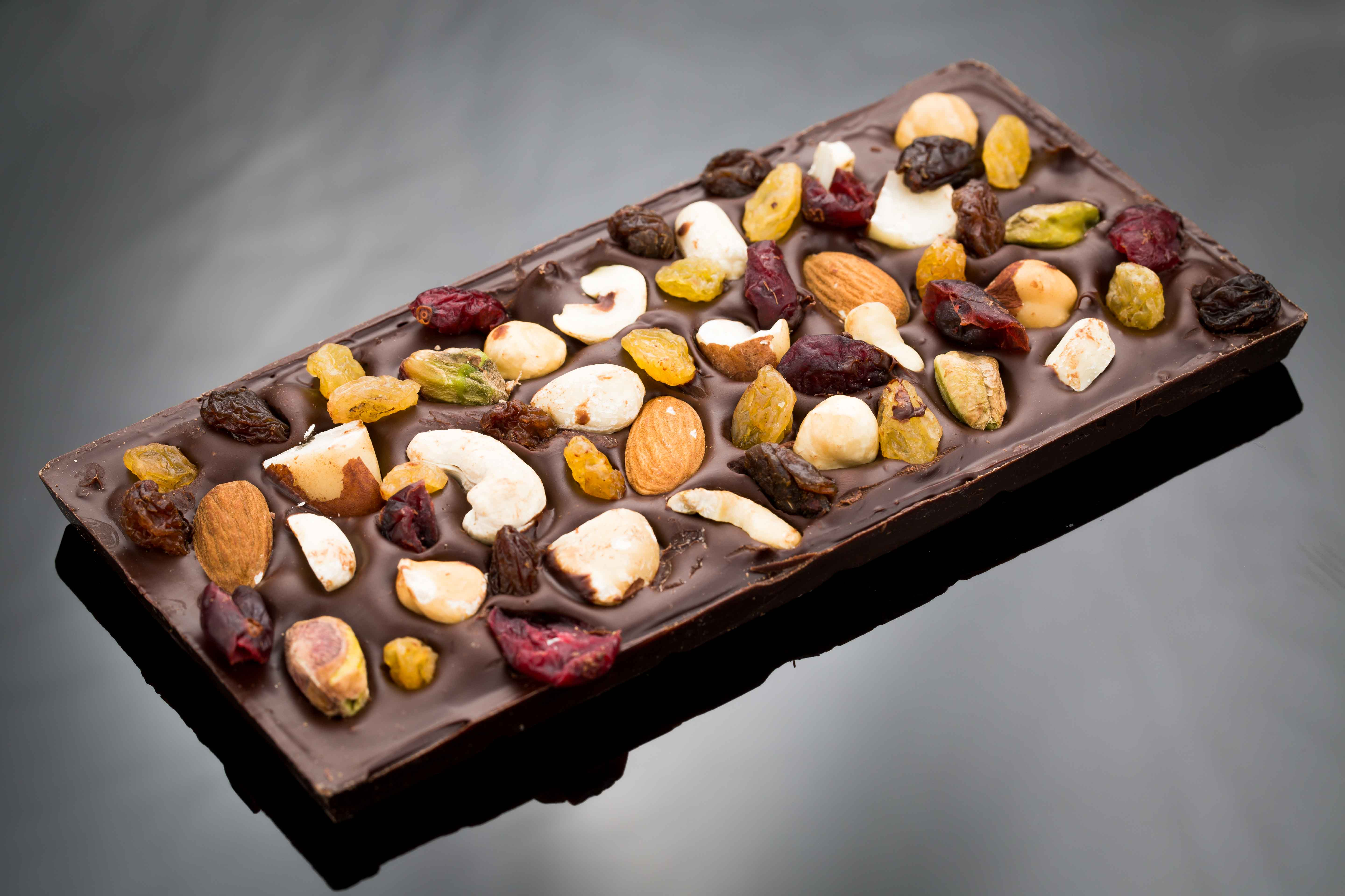 Chocolate Gifts, Dark Chocolate Fruit and Nut - The Chocolate Room