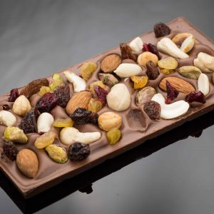 Chocolate Gifts, Milk Chocolate Fruit and Nut - The Chocolate Room
